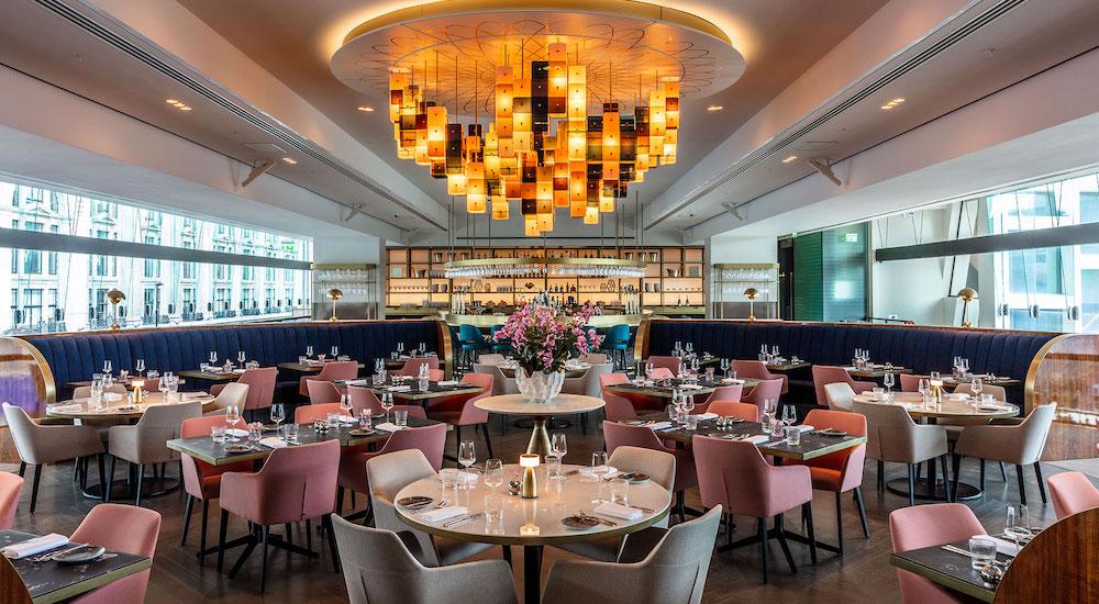 The Glamorous, 60s-Inspired Restaurant Inside The Centre Point Building •VIVI