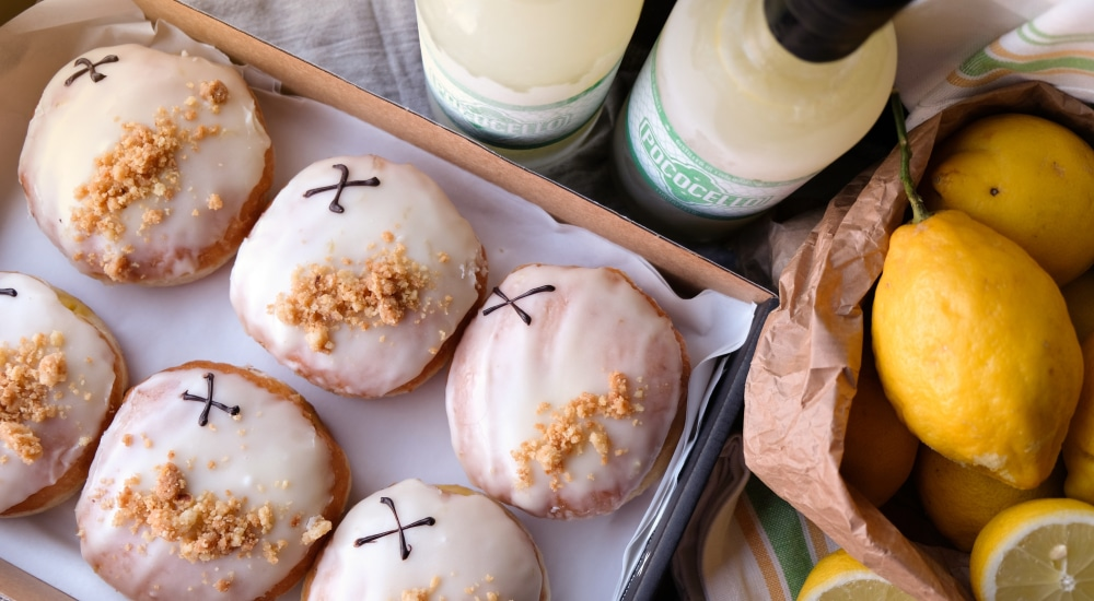 Behold The Limoncello Doughnut: The Delicious, Zesty Treat Available Throughout June