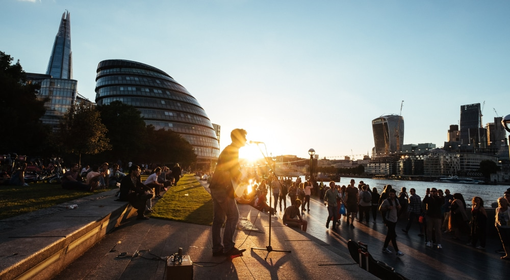 London Is The First City To Introduce A Contactless Payment Scheme For Buskers