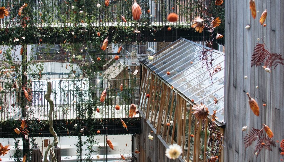 This London Hotel Has Transformed Into A Beautiful, Enchanted Garden