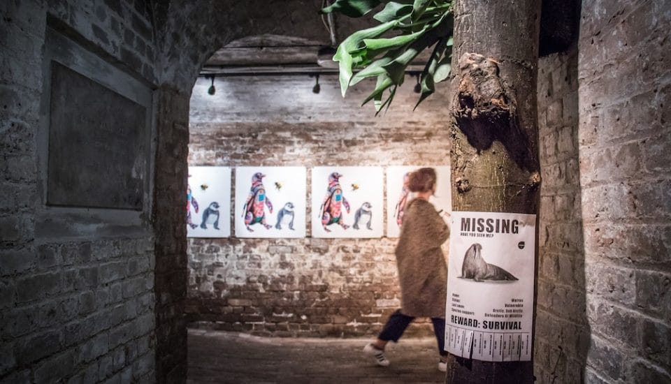 A Breathtaking Exhibition About Endangered Animals Has Opened In London