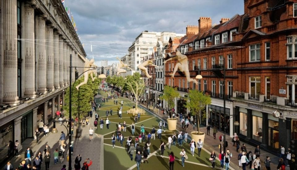 Plans To Pedestrianise Oxford Street May No Longer Go Ahead