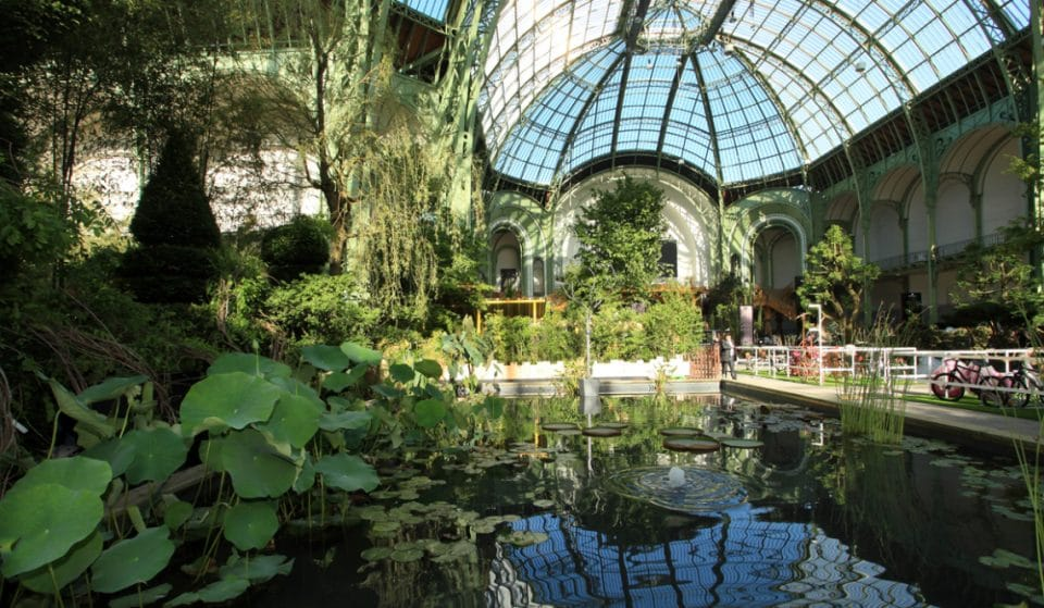 Paris's Gorgeous Old Exhibition Hall Is Turning Into A Tropical Super Club
