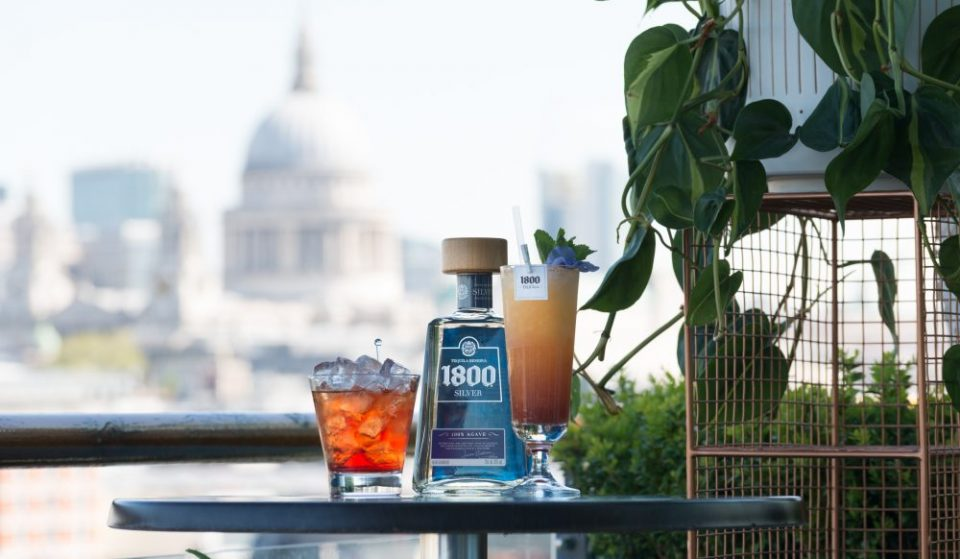 1800 Tequila Have Unveiled London's Hottest New Rooftop Bar