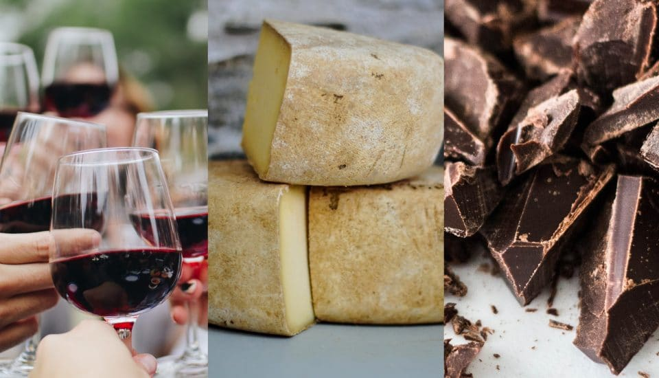 There's A Wine, Cheese And Chocolate Festival Coming To London