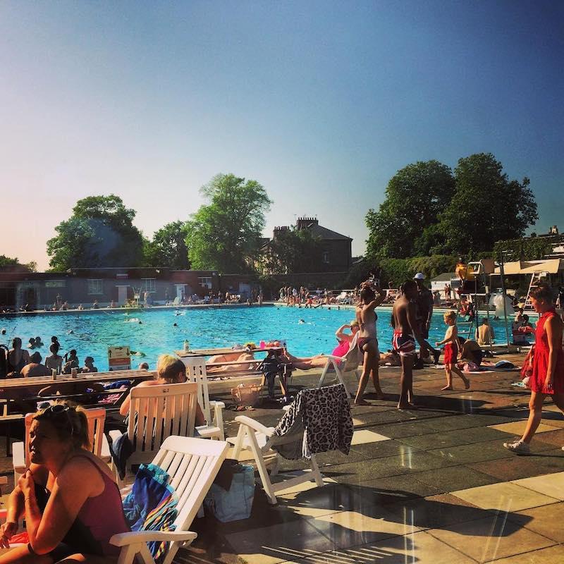 Brockwell Lido Outdoor Swimming Pool
