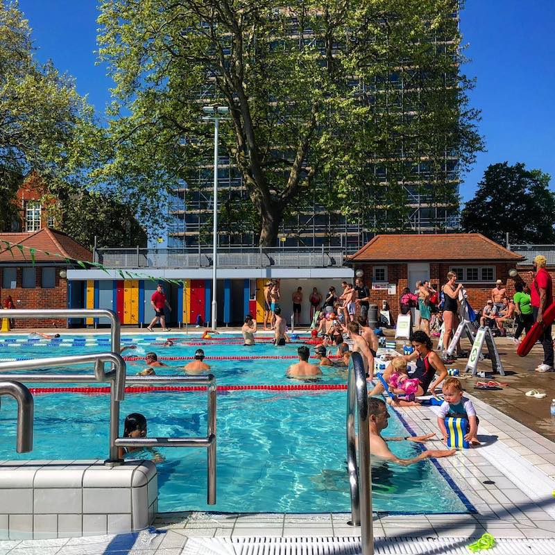 Swimming Pools And Outdoor Lidos In London 12 Smashing Swim Spots