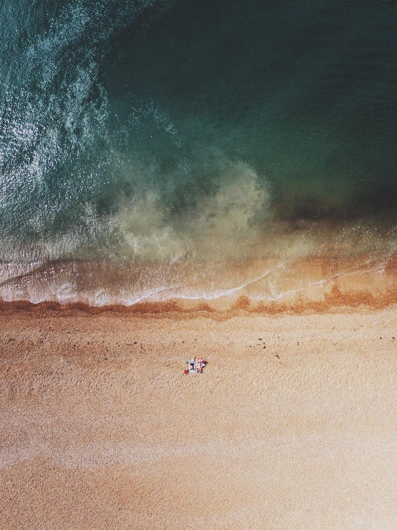 Brighton beach near London