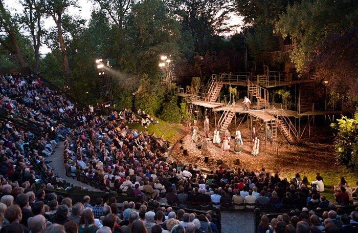 Catch Al Fresco Shows At London's Favourite Outdoor Theatre • Regent's Park Open Air Theatre