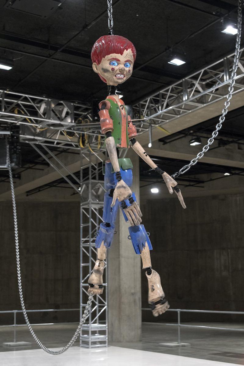 Colored Sculpture Jordan Wolfson