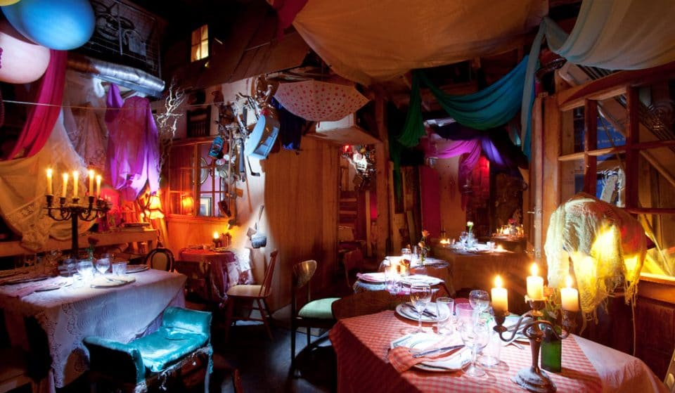 This Might Be The Wildest Place For Dinner In London • Pale Blue Door
