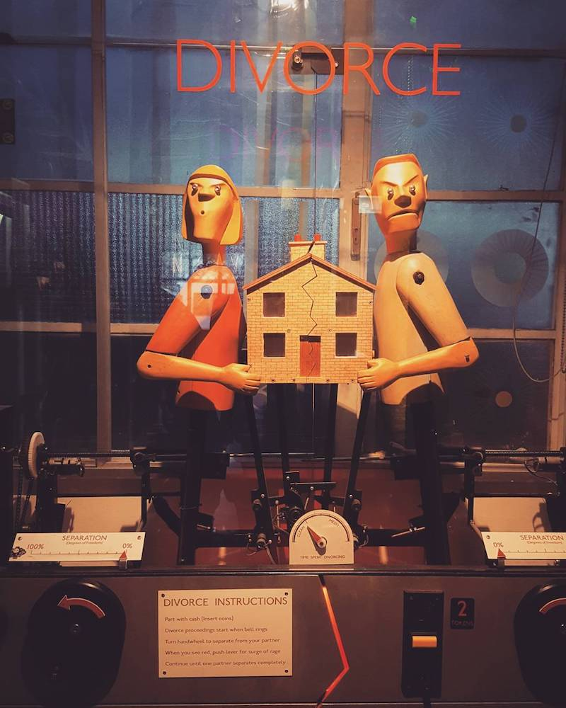 DIVORCE game novelty automation