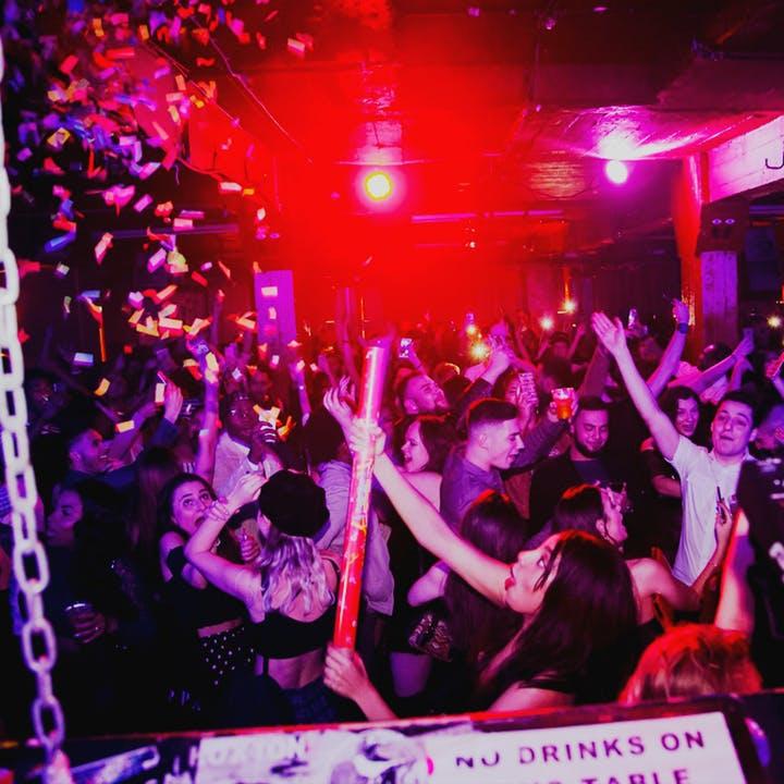 May Bank Holiday Parties London