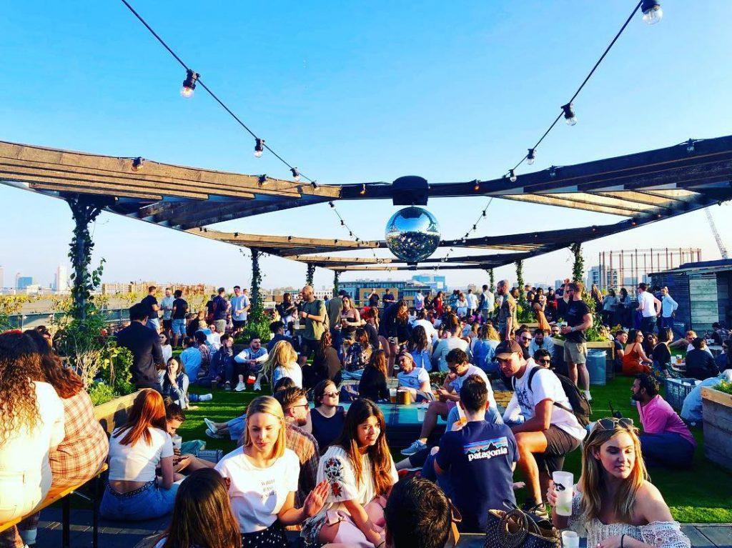 Rooftop Bar Netil360