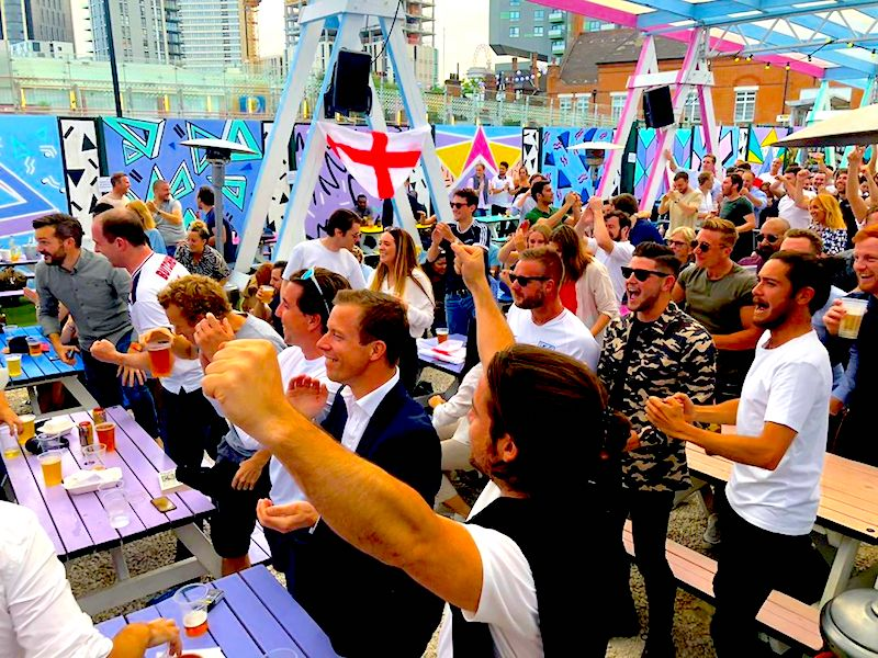 World Cup Screenings London Stratford