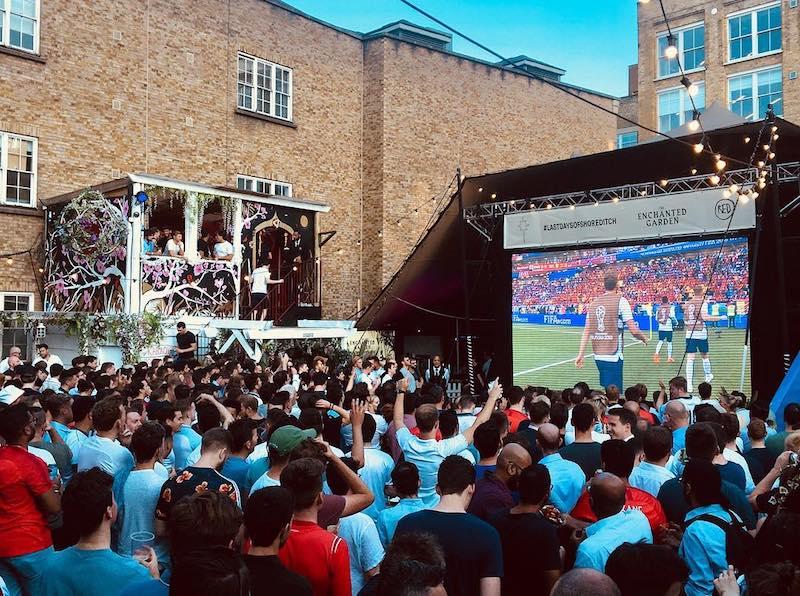 World Cup Screenings London Shoreditch