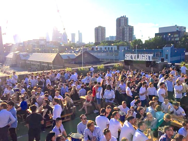 World Cup Screenings London Skylight