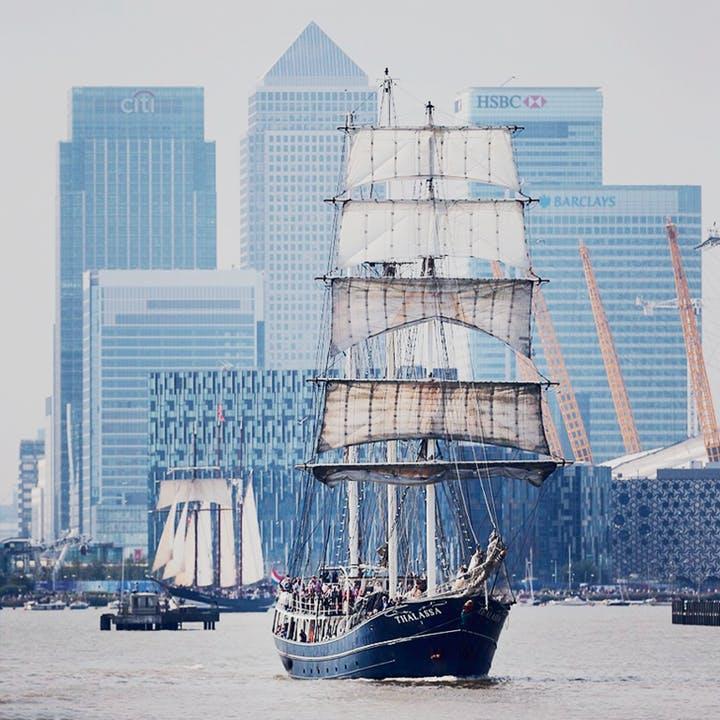 Tall Ships Thames 2018