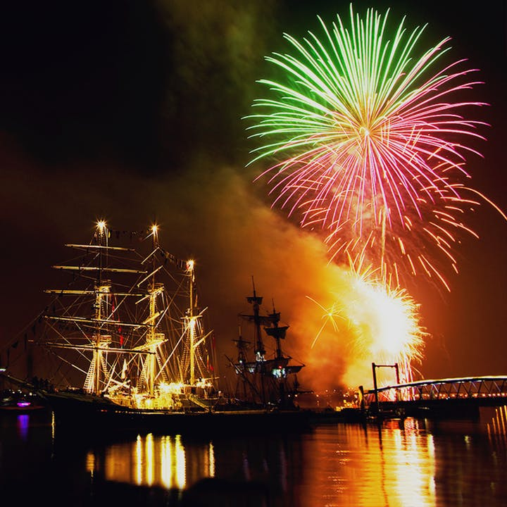 Tall Ships Fireworks