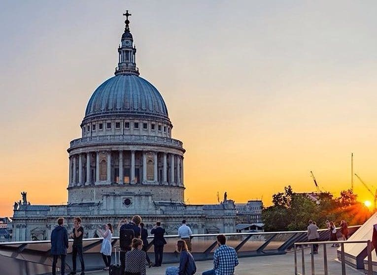 The Stunning Roof Terrace With The Gorgeous Views Of St Paul's • One New Change