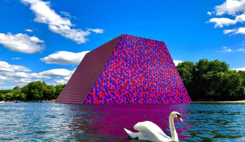 There's A Huge New Artwork Floating On The Serpentine