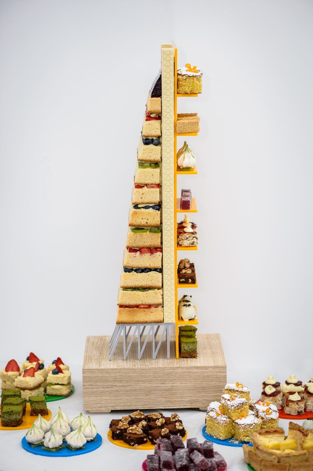 YES WATG's Great Architectural Bake Off 2018 - Leadenhall Building by Rogers Stirk Harbour + Partners © WATG