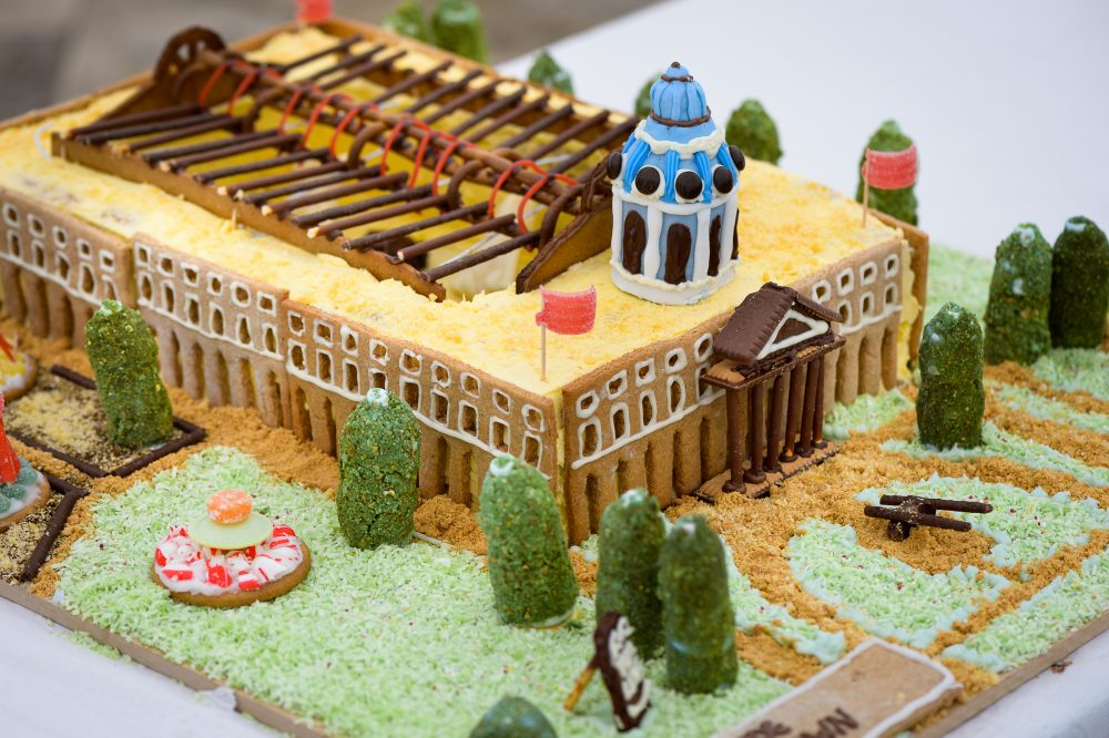 YES WATG's Great Architectural Bake Off 2018 - Imperial War Museum by Stride Treglown © WATG