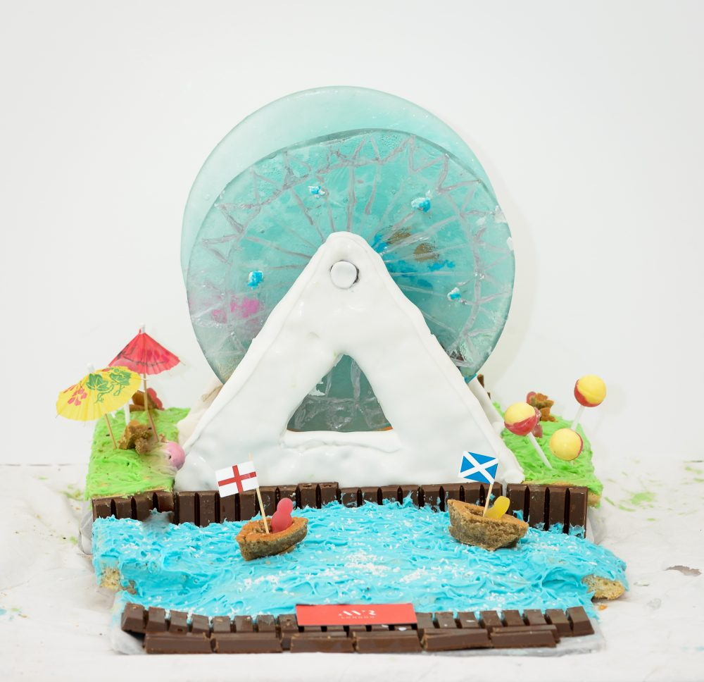 YES WATG's Great Architectural Bake Off 2018 - The London Eye by AVR © WATG