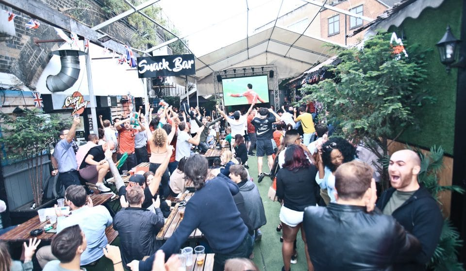 This London Street Food Garden Is Going All Out For The World Cup