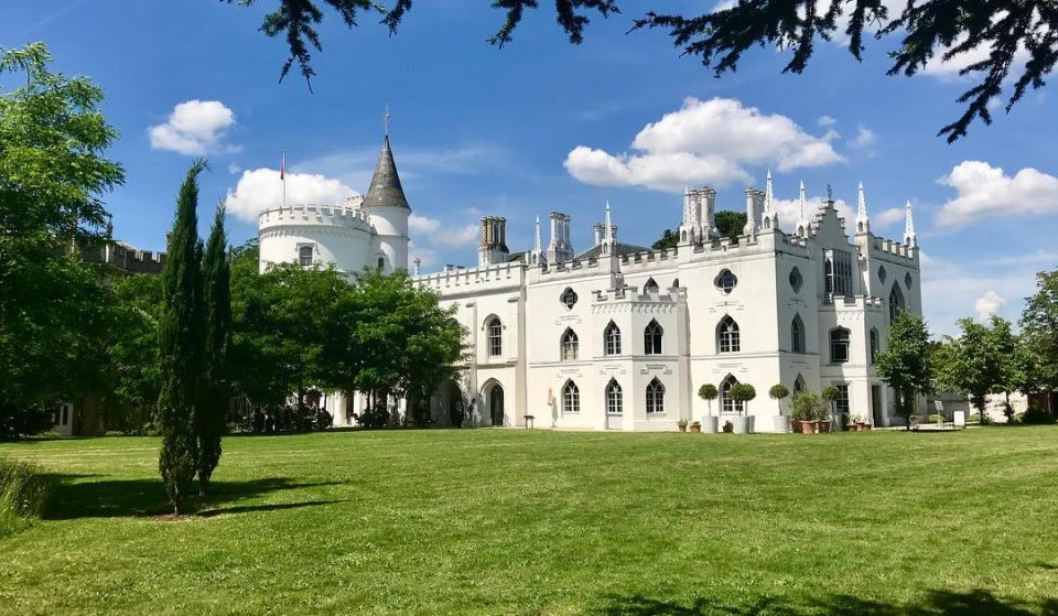 Feel The Magic At London's Enchanting Gothic Castle • Strawberry Hill House & Garden