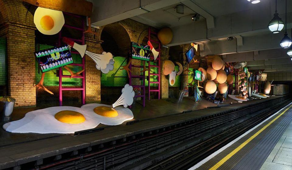 The Underground's New Art Installation Is Making Us Hungry
