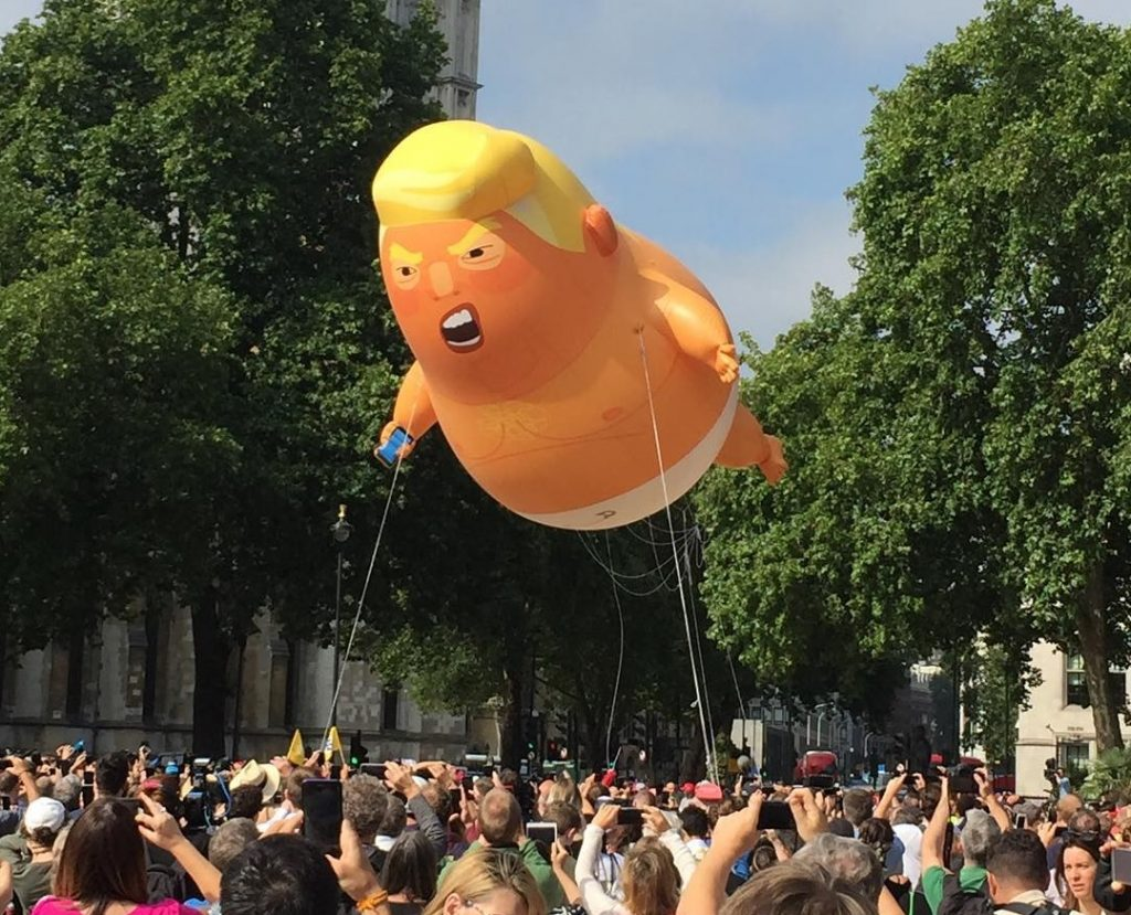 Trump Baby Will Return This June, Organisers Confirm