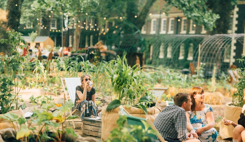 East London's Latest Summer Pop-Up Is A Gorgeous Garden Paradise