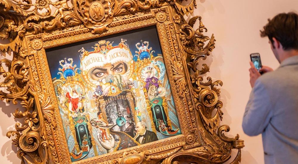 Michael Jackson Exhibition In London