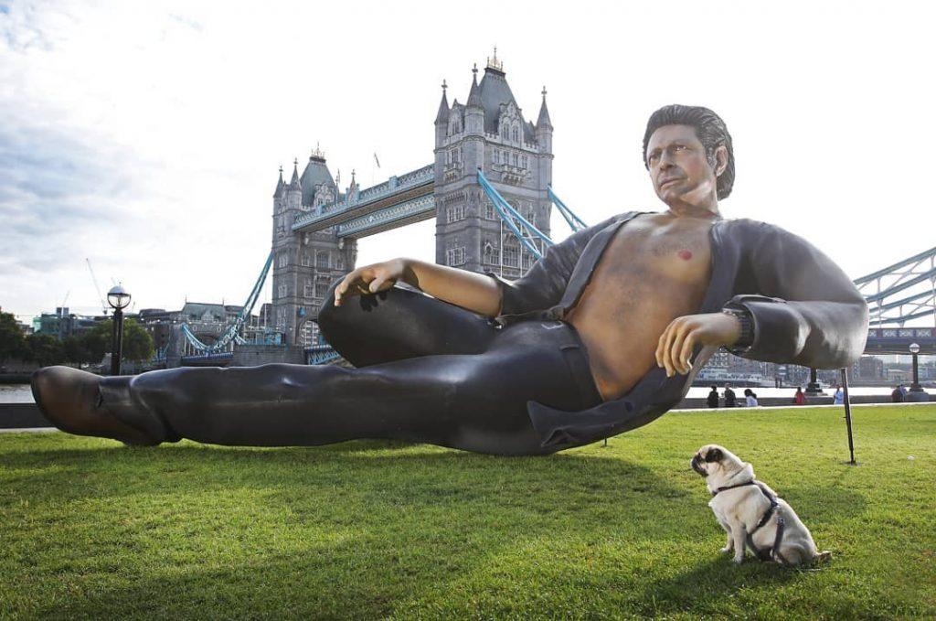 Jeff Goldblum Statue