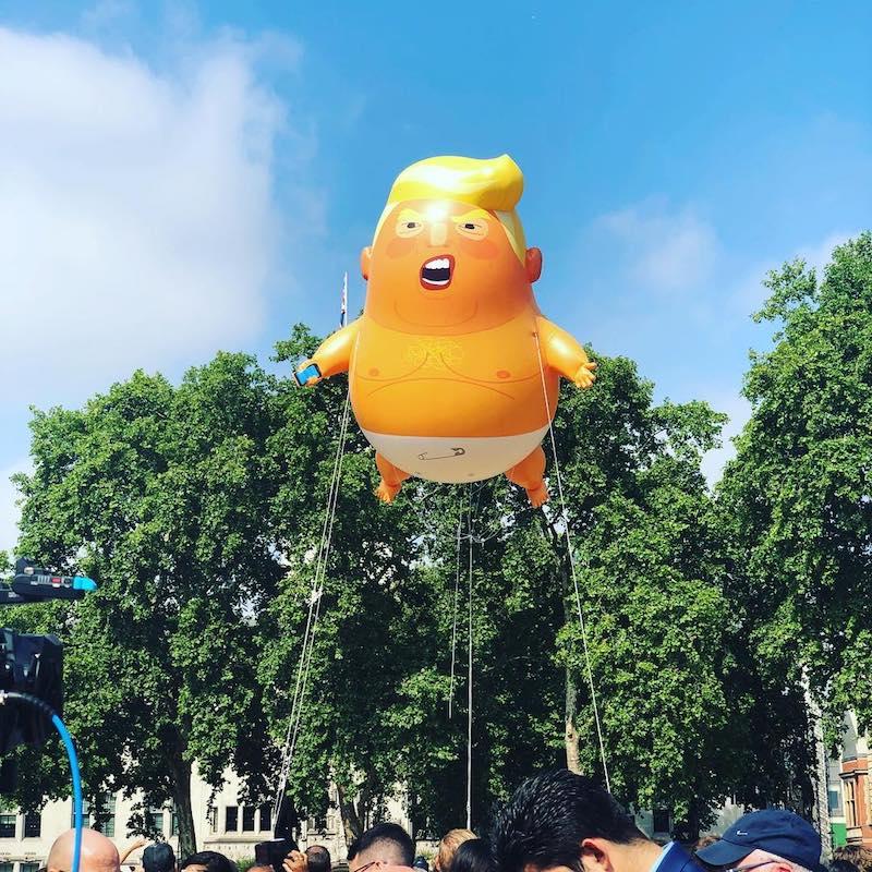 Trump Baby 2018