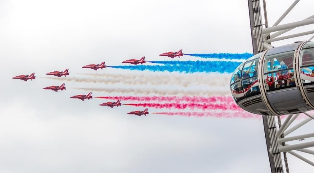 10 Photos Of The RAF Flypast That Are Just Plane Brilliant