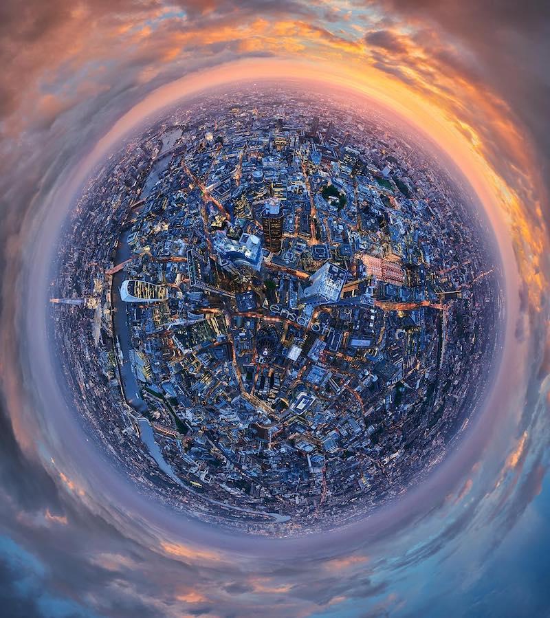 London Skyline Planet