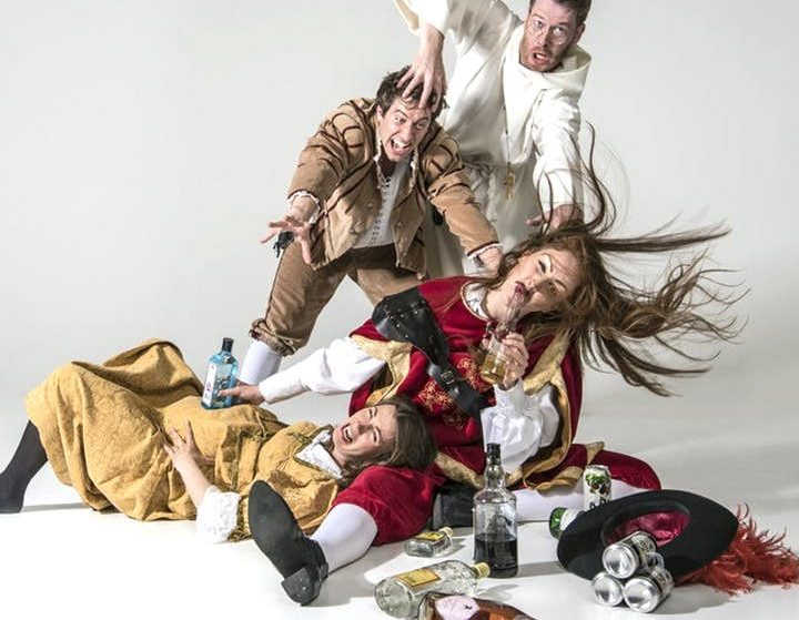 This Hilarious Comedy Night Features Very Drunk People Performing Shakespeare
