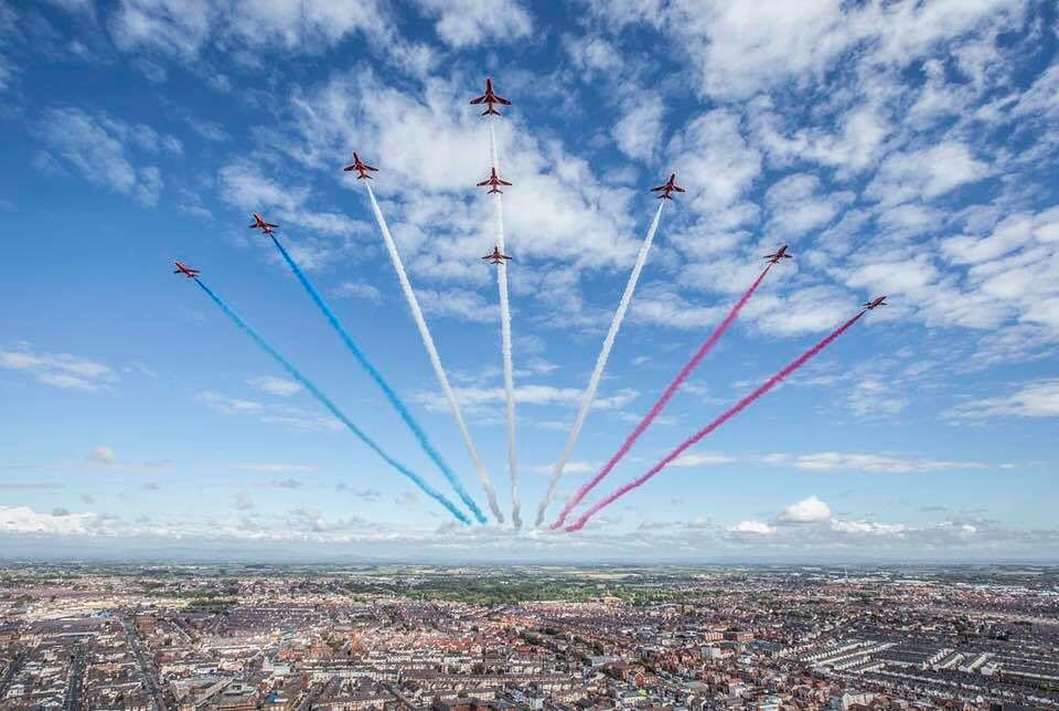 RAF 100 Flypast 2018
