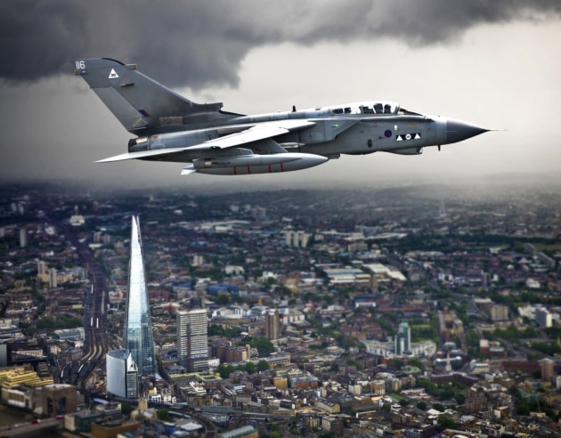 London Flypast RAF 100
