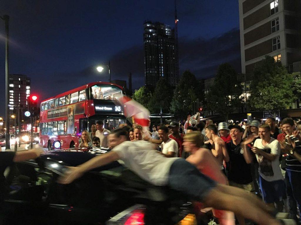 World Cup Celebrations London