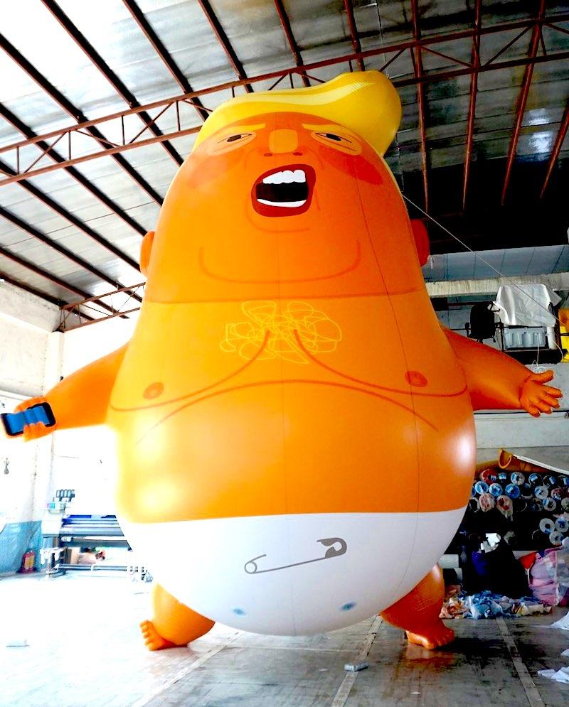 Trump Baby Protest Balloon