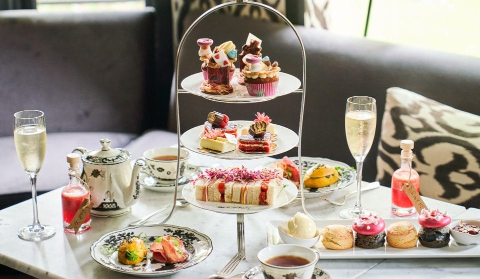 London Has A Curious New Alice In Wonderland-Themed Afternoon Tea