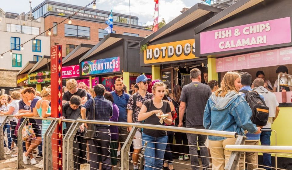 London Is Getting Two New Waterside Street Food Markets, And We're Already Hungry