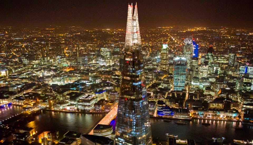 A Fabulous Valentine's Day Champagne Party Is Coming To The Shard