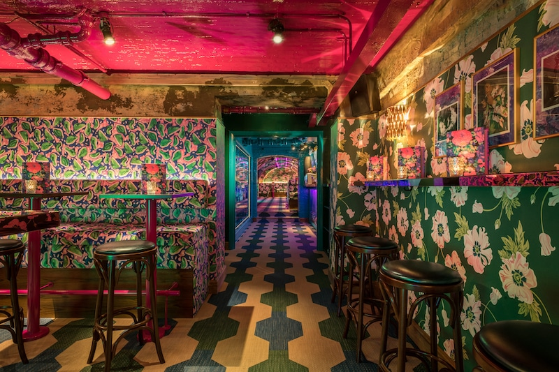 Throw Back To The 70s At Brunch In This Lusciously Retro Drinking Den