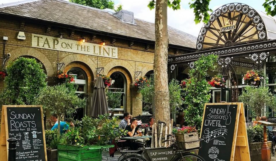 The Cute Country Pub Perched On A London Underground Platform • Tap On The Line