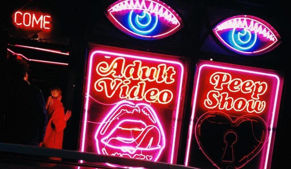 The Soho Sex Shop That's Actually A Secret Restaurant And Tequila Bar • La Bodega Negra