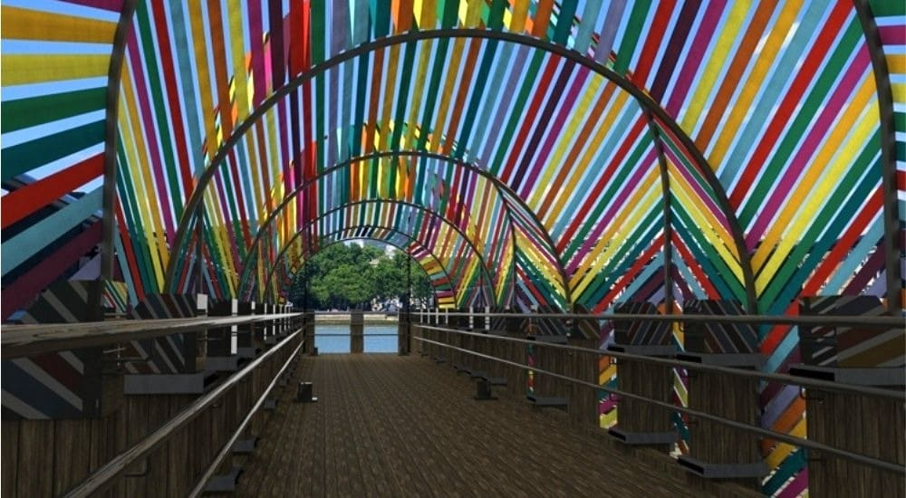 This Colourful Riverside Installation Is Coming To London's South Bank